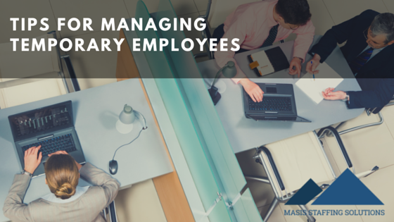 Managing temporary employees