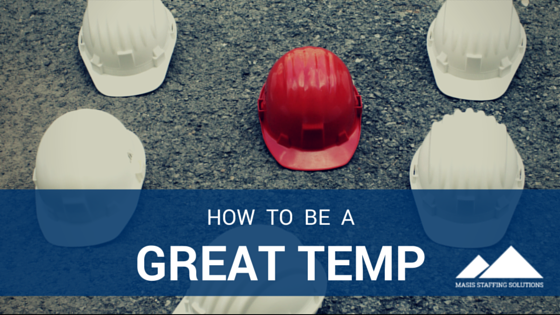 be a great temp
