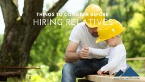 hiring relatives