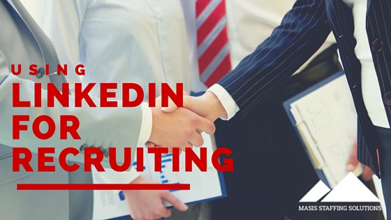 using linkedin for recruiting