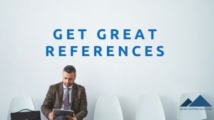 get great references