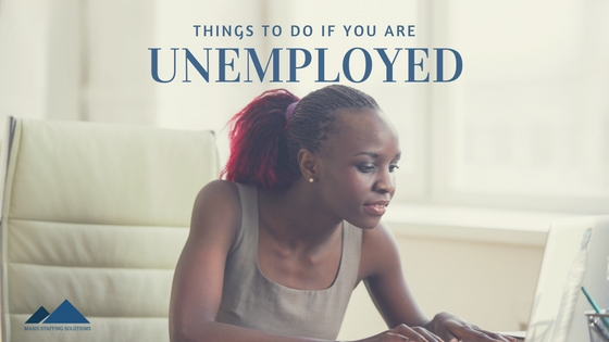things to do if you are unemployed