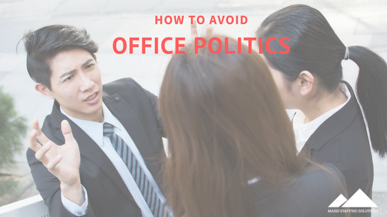 avoid office politics