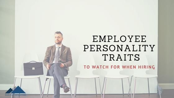 employee personality traits