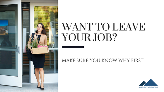 want to leave your job