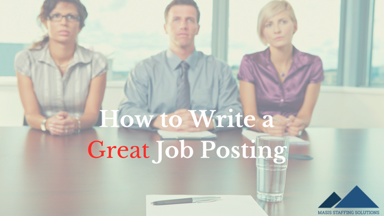 How to write a great job posting