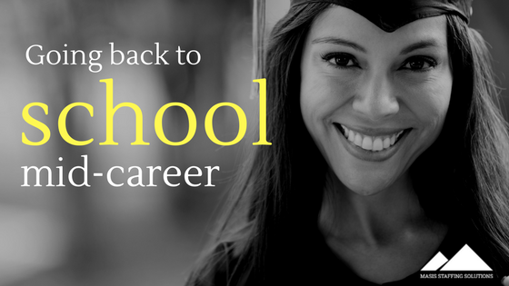 going back to school mid-career