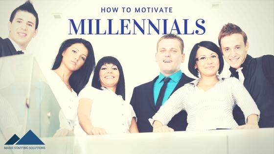 how to motivate millennials