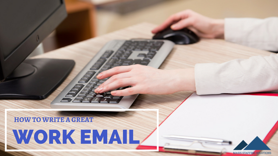 write a great work email