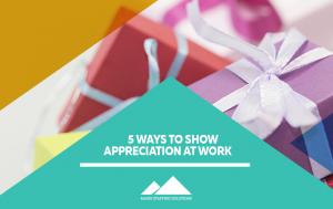 show appreciation at work