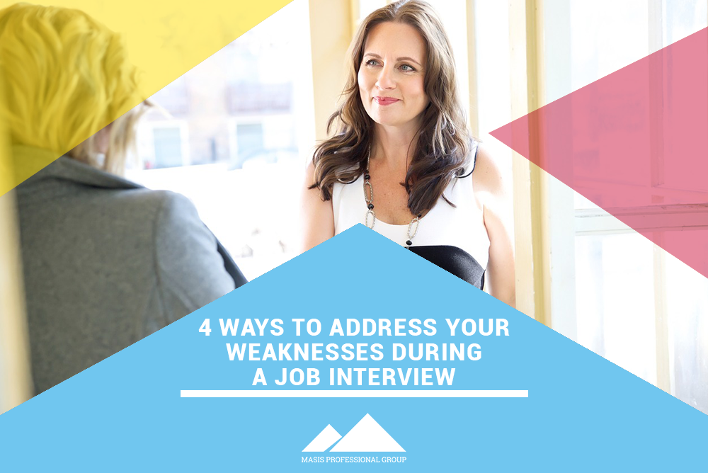 addressing your weakness during a job interview