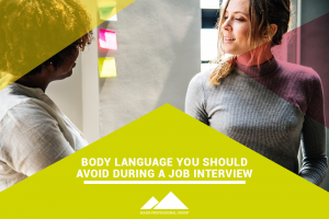 body language during a job interview