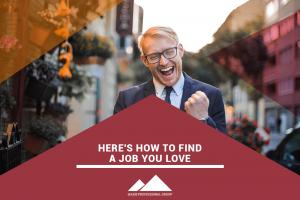 find a job you love