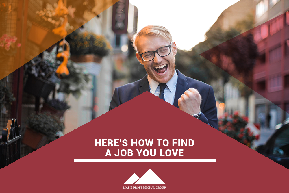 find a job you love