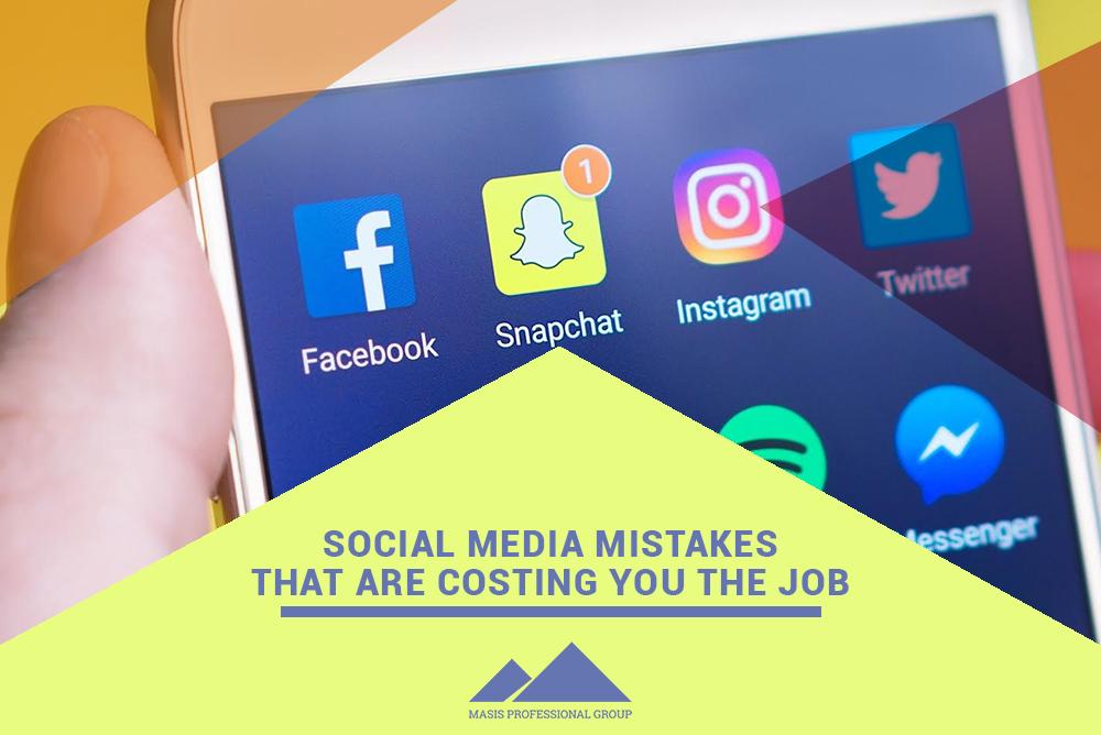 Social media mistake